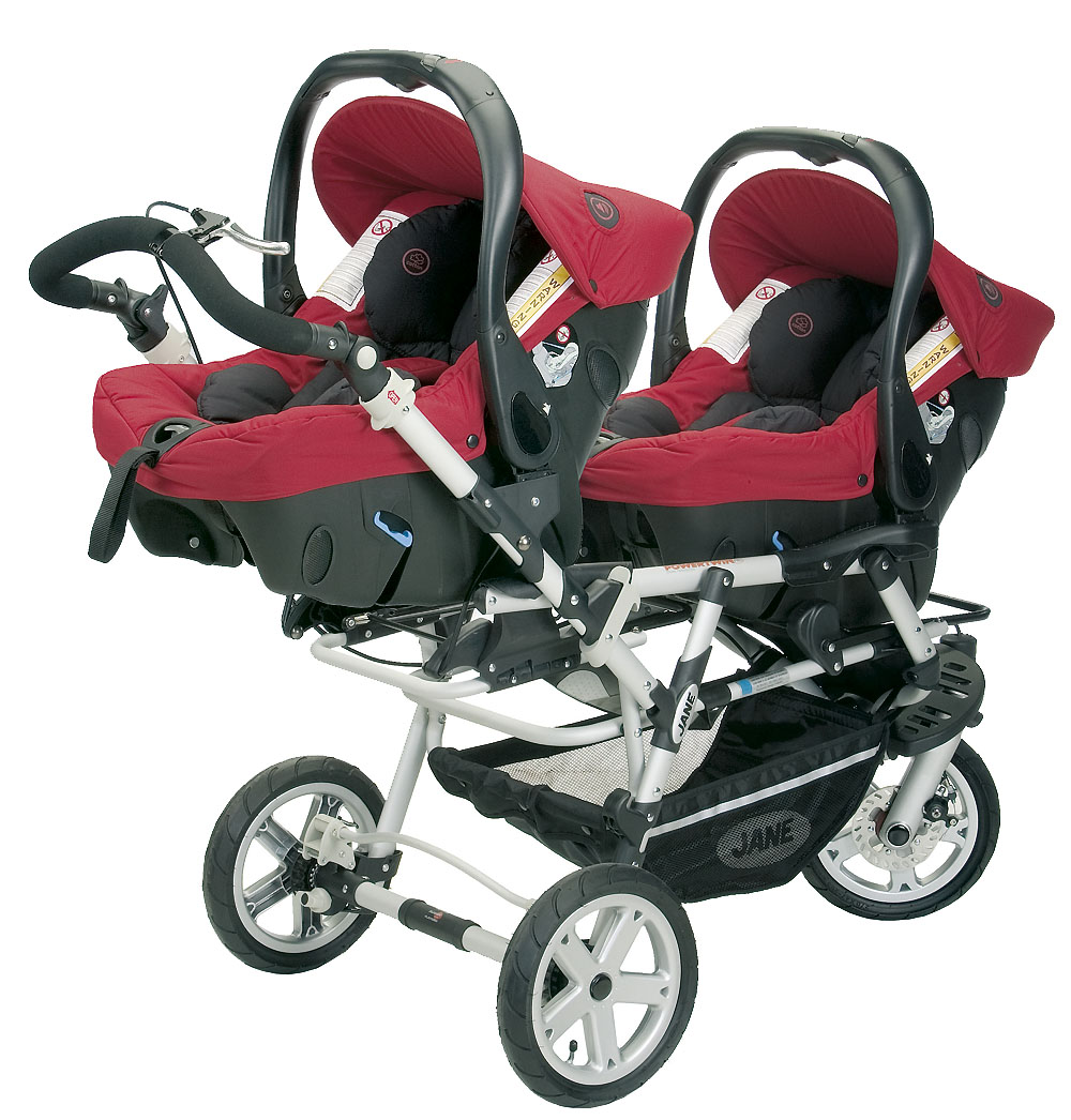 I love you jane powertwin pram it 39 s how we roll - Porte bebe double pour jumeaux ...